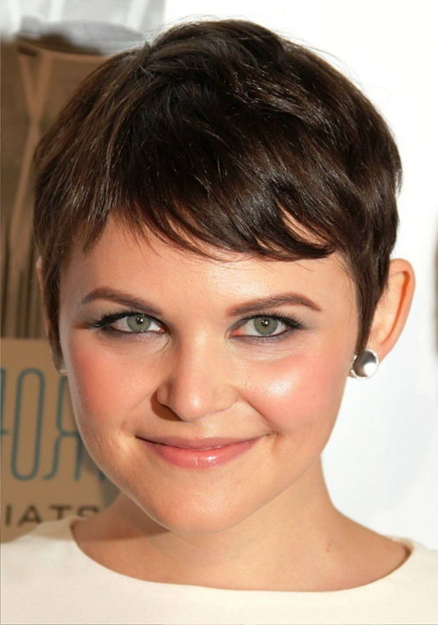 2017 Pixie Haircuts For Fat Faces Stylish Hairstyles For Round Faces