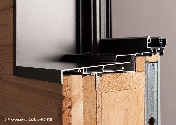 precadre alu ossature bois ouveo house plan pinterest ossature bois bois et bardage. Black Bedroom Furniture Sets. Home Design Ideas