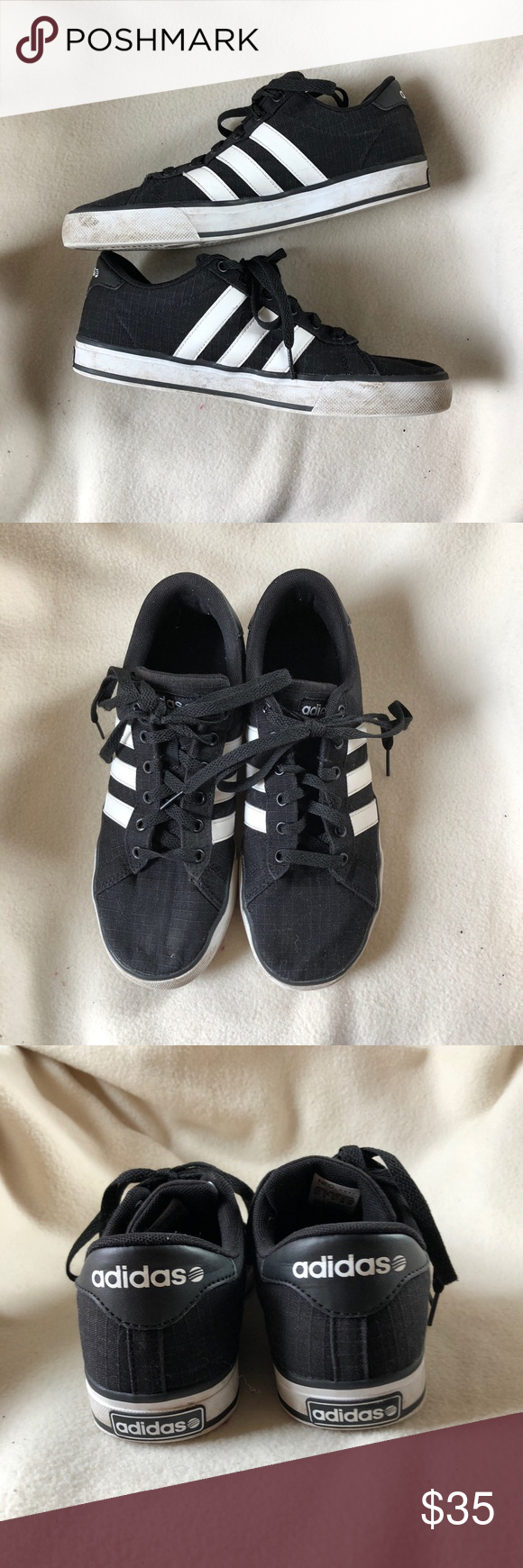adidas neo label shoes black