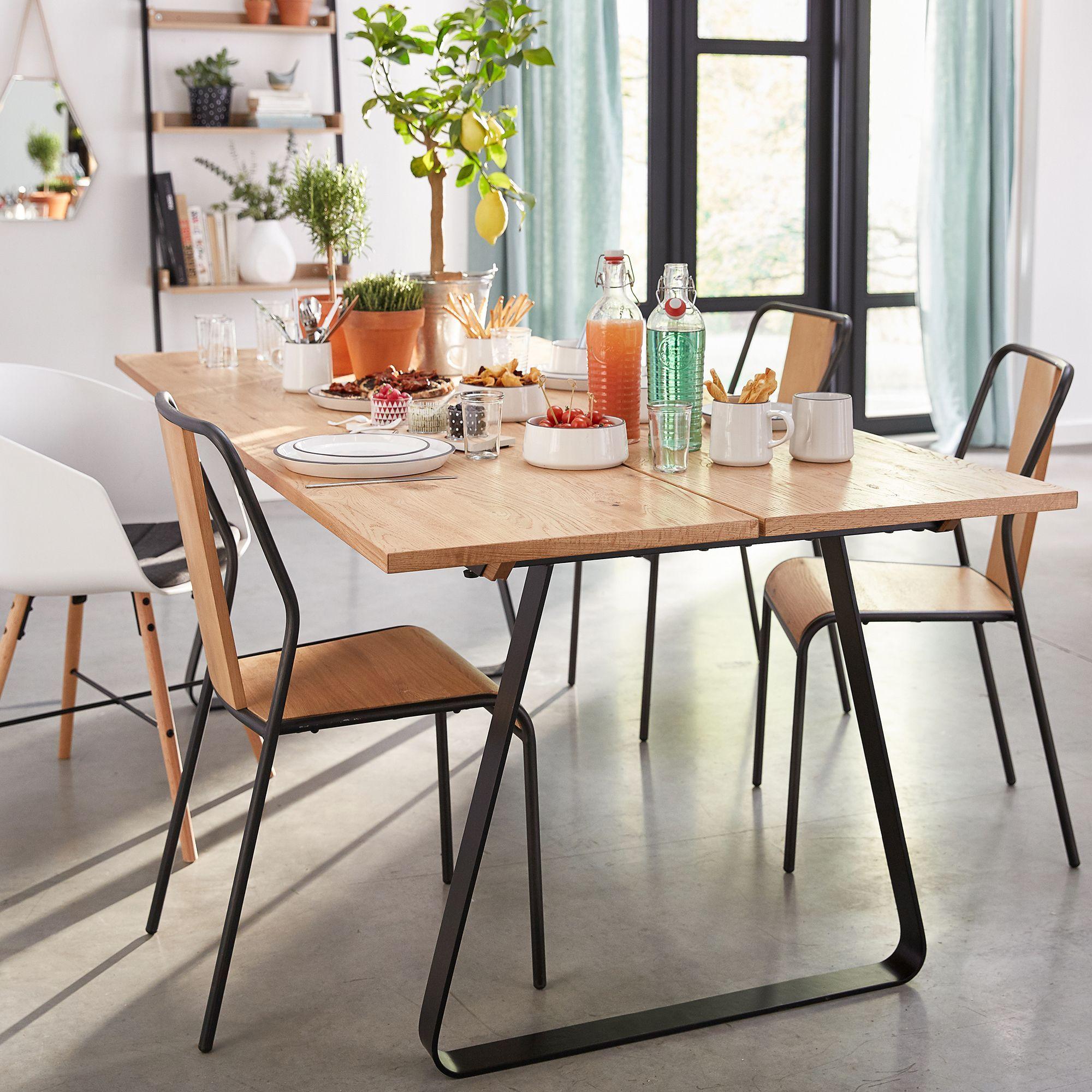 alinea : fantine table de repas en chêne l200cm - 10 ...