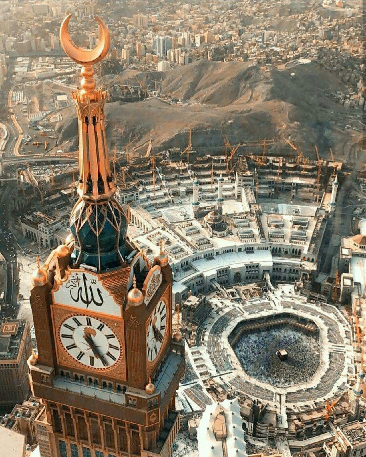 مكة المكرمة ماشاء الله لا إله إلا الله الله أكبر Mecca Wallpaper Mekkah Makkah