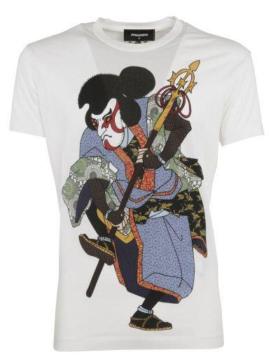 DSQUARED2 Dsquared2 Samurai T-Shirt. #dsquared2 #cloth #topwear