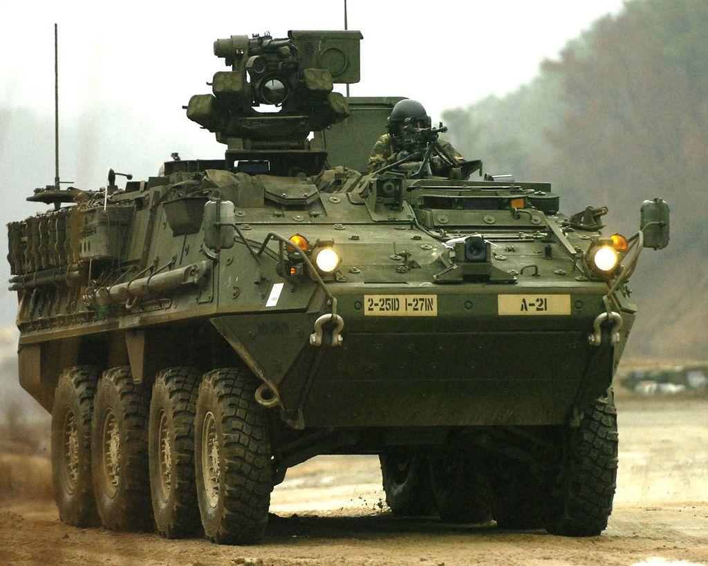 M1126 stryker m1126 stryker infantry carrier vehicle us army korea