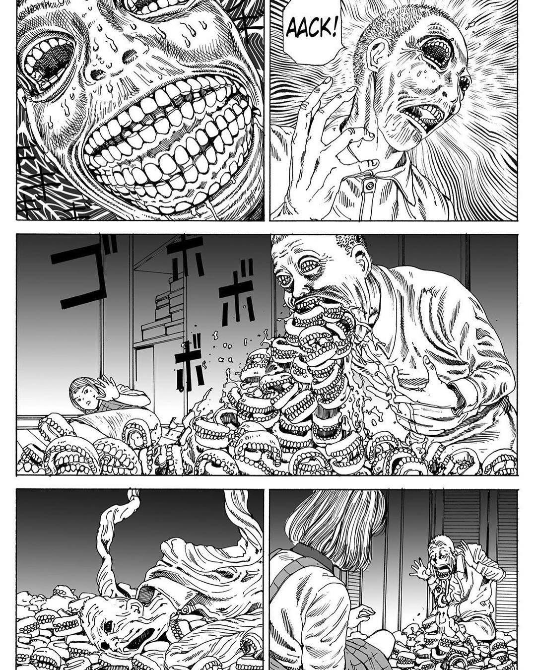 ጁት ⛓️ shintaro_kago manga horror terror gore