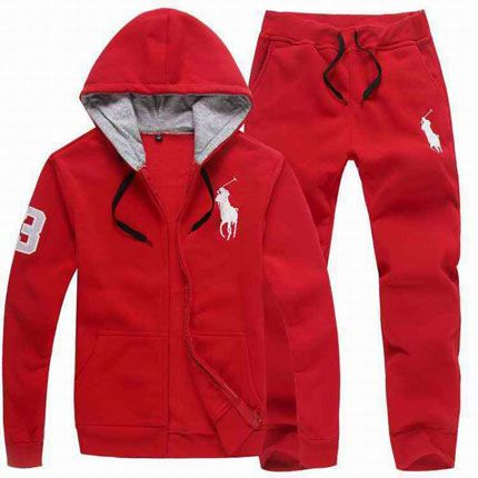 107be5ed72a Polo Ralph Lauren Men s Tracksuit Red