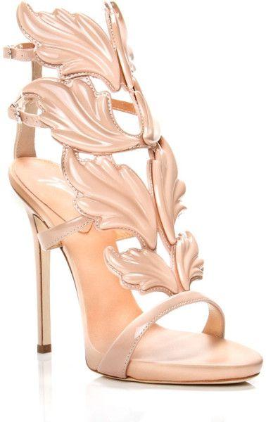 e2e3888f4a5 Giuseppe Zanotti Cruel Summer Stiletto Sandals in Beige (sky)