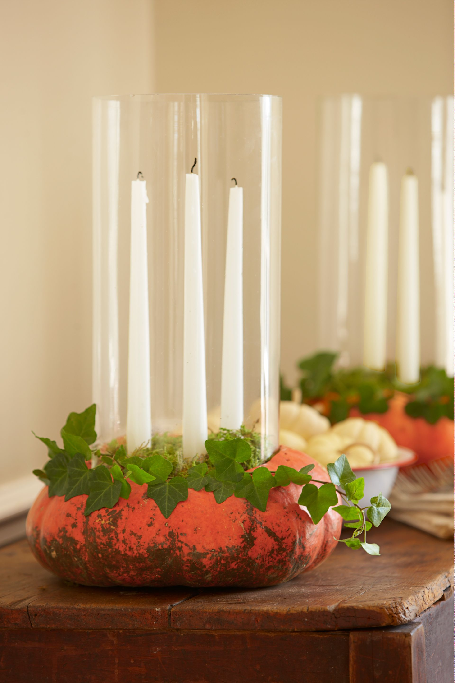 60+ Enchanting Halloween Decorating Ideas A hurricane, Candelabra