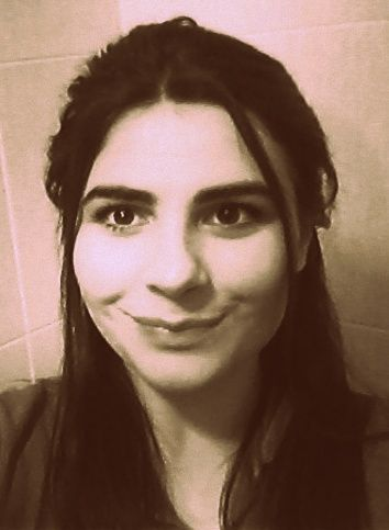 my hair, my makeup..and I :)