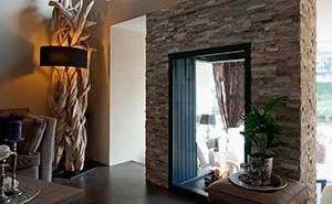 Barroco Natuursteenstrips, Steenstrips, Modern Rusty, Open haard in ...