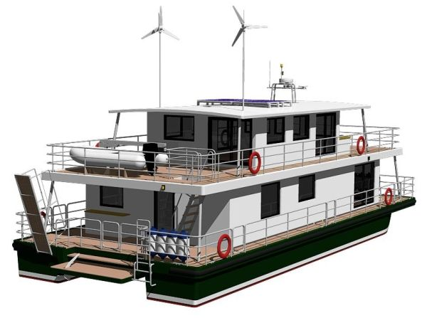 Diy Houseboat Plans Building Your Own Houseboat House Boat Boat Plans Wood Boat Plans