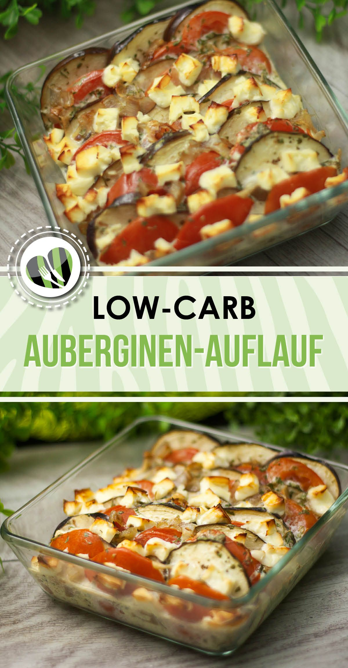 Photo of Eggplant casserole, vegetarian, low carb and without carbohydrates