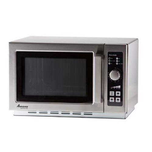Amana Commercial Microwave Oven Countertop 1000 Watts 10 Min