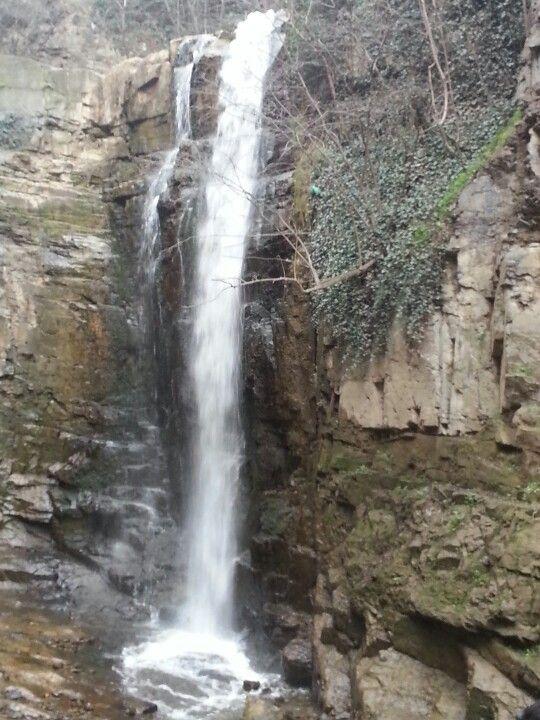 Close up of waterfall. Tblisi, Georgia