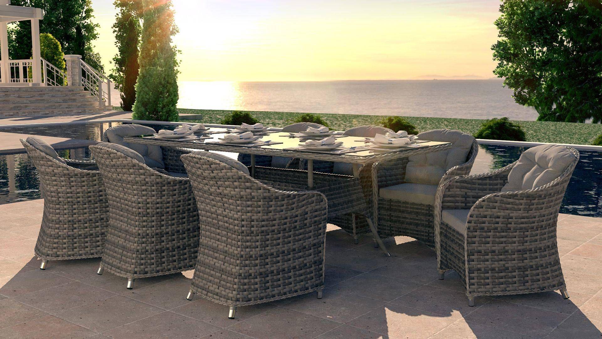 Velia Xl En 2020 Toit En Verre Mobilier Jardin Table Et Chaises