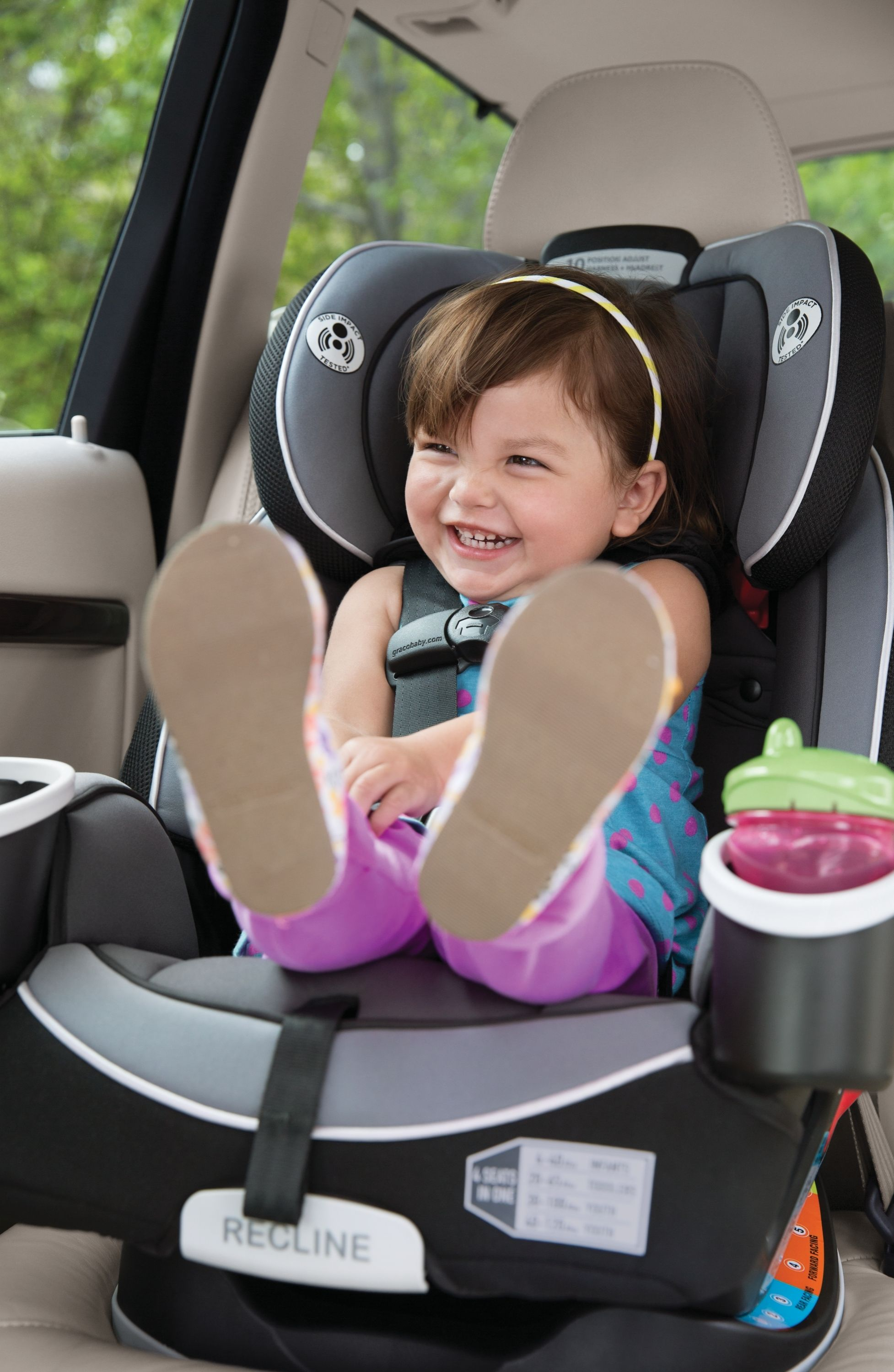 The Graco 4Ever AllinOne Car Seat in Cameron is the
