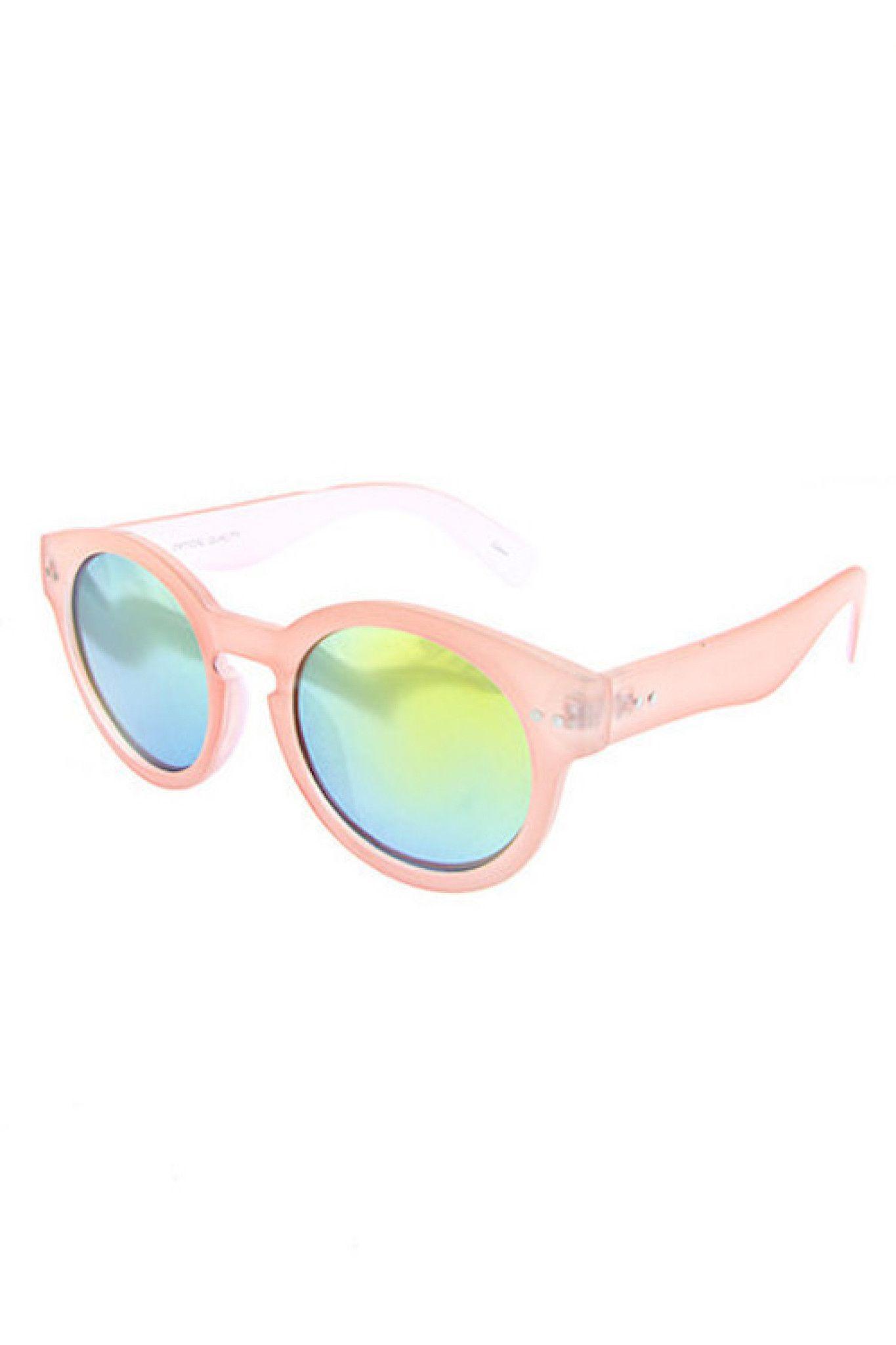 fruit colors sunglasses in five colors lens round sunglasses