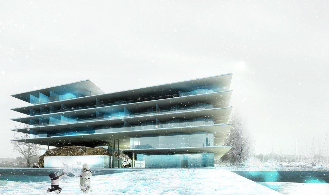 'Stavia 2012′ Hotel Proposal / Marciano Architecture,Courtesy of Marciano Architecture