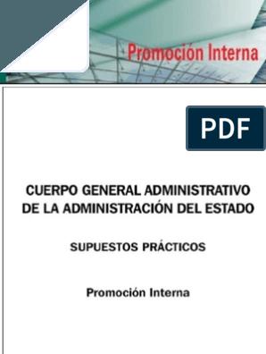 Supuestos Practicos Cuerpo General Administrativo Pdf Administracion Contrato De Servicios Preguntas Con Respuestas