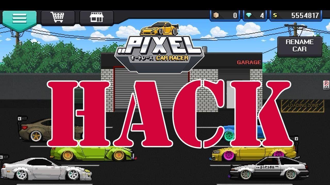 pixel car racer hack 2018 how to hack money & diamonds