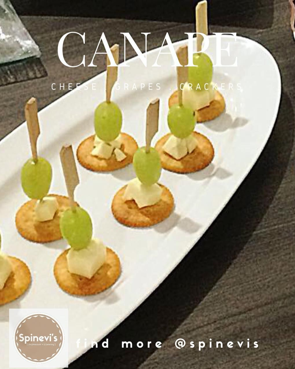 Spinevi S On Instagram Canape Spinevis Is A Small Prepared And Usually Decorative Food Consisting Of A Small Piece Of In 2020 Piece Of Bread Food Puff Pastry