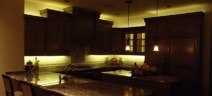 Led Light Strips Ropes Install Kitchen Cabinets Undercabinet Lighting Fixture Lights