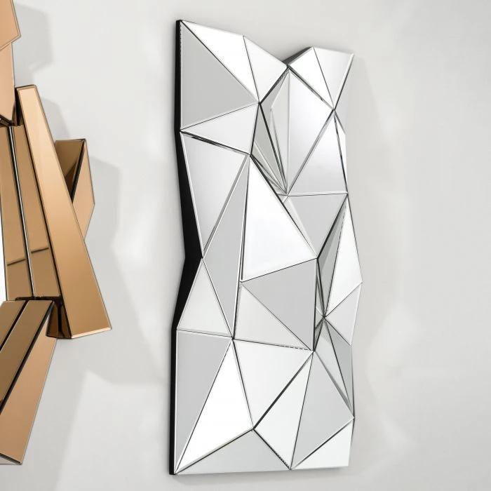 11++ Geometric mirror wall decor information