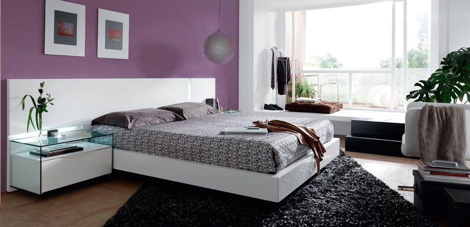 dormitorios matrimonio modernos blancos diseo de interiores