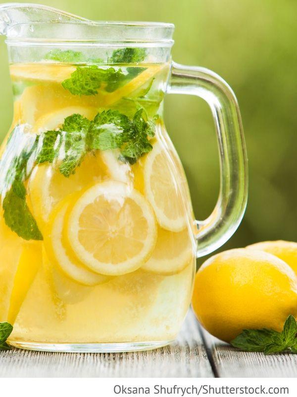 Zitronen Limonade Limonad - Лимонад - Russische Rezepte ...