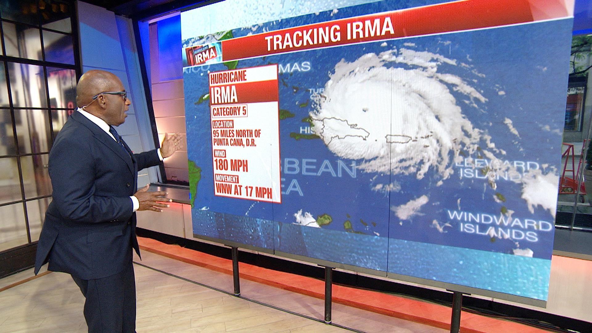 Hurricane Irma expected to reach Florida Sunday morning