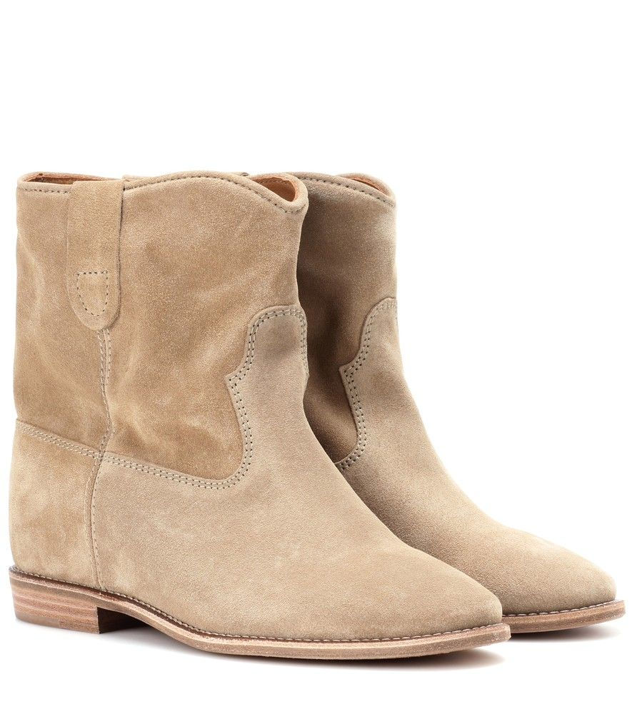 Bottines en daim CrisiIsabel Marant