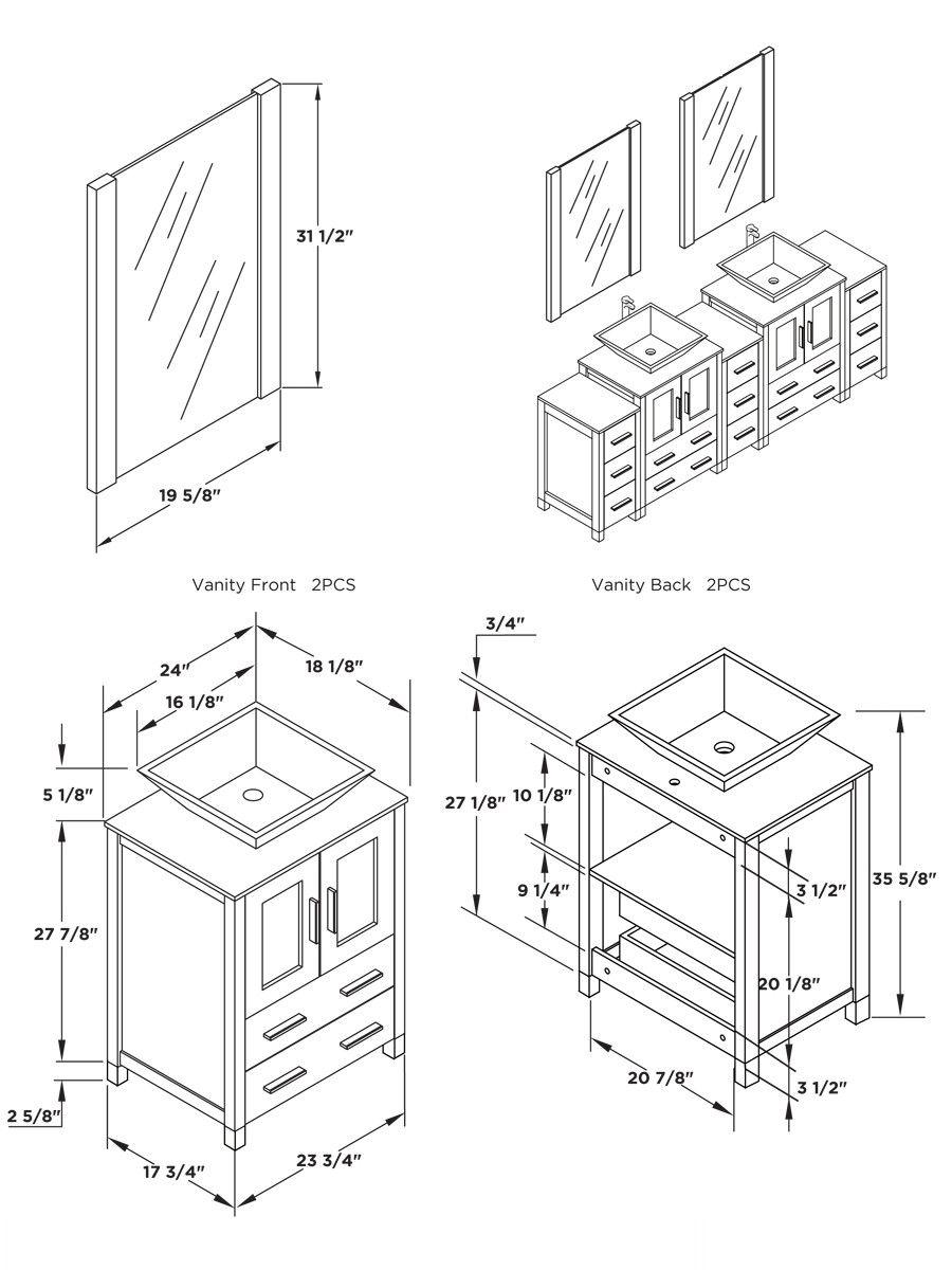 55+ Bathroom Sink Base Cabinet Sizes - Kitchen Counter top Ideas ...