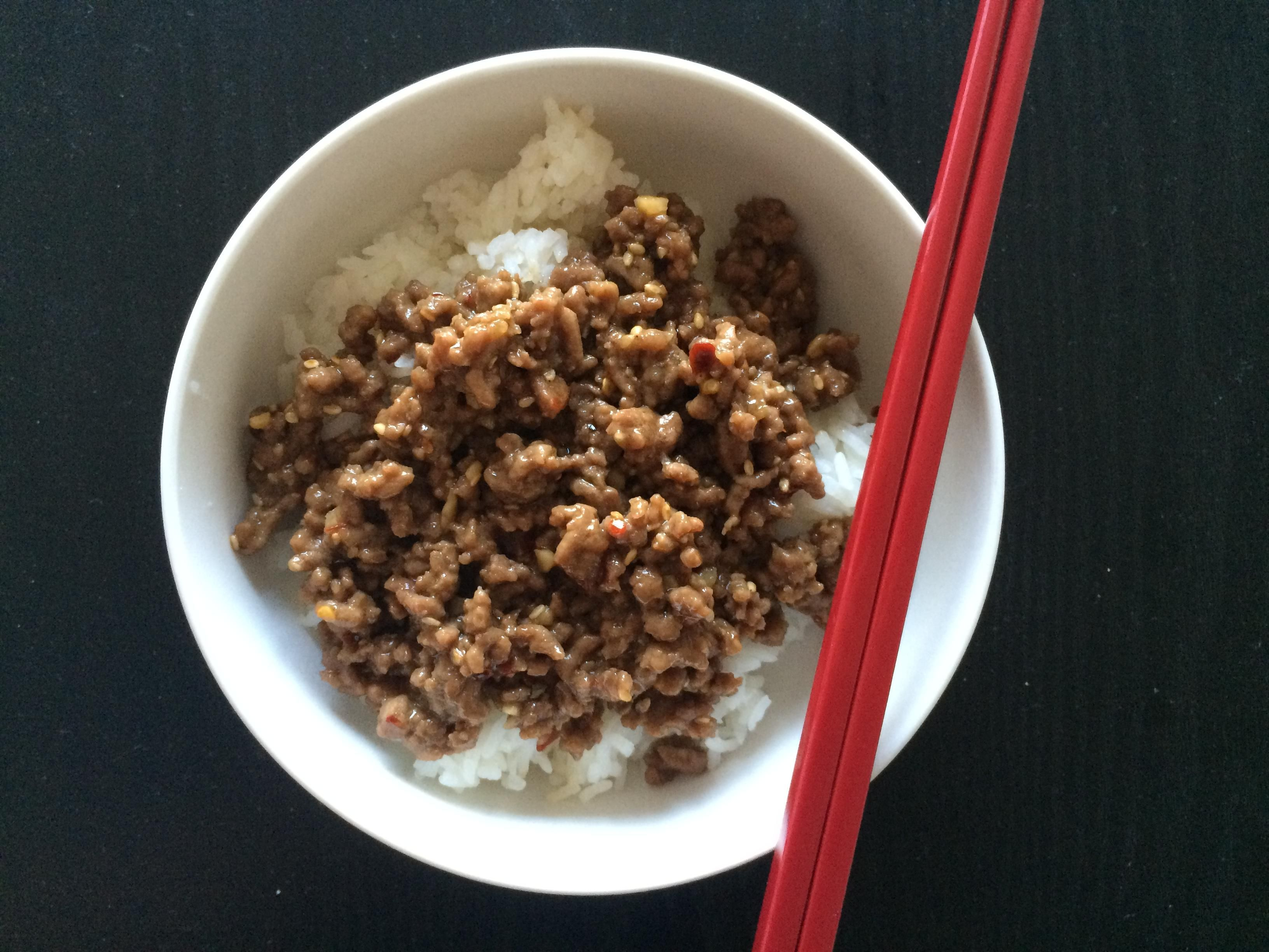 Homemade Korean Beef With Rice [Homemade] #Recipes #Food #Cooking #Delicious