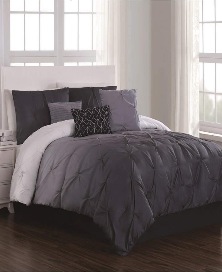 Geneva Home Fashion Bergen 7 Pc Queen Comforter Set Bedding In 2019 Maroon Bedroom Comforters Comforter Sets Queen Comforter Sets