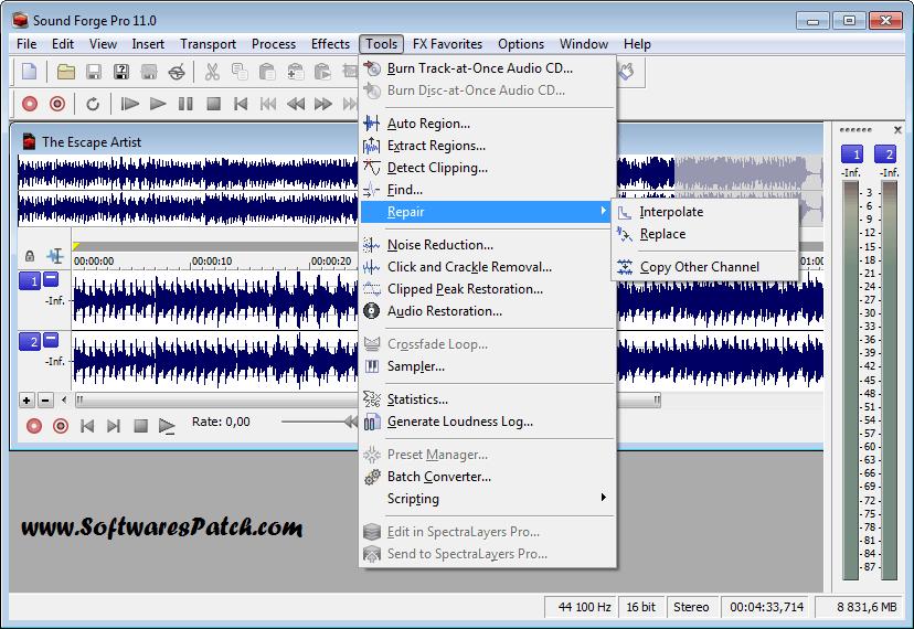 baixar sound forge 8 + keygen