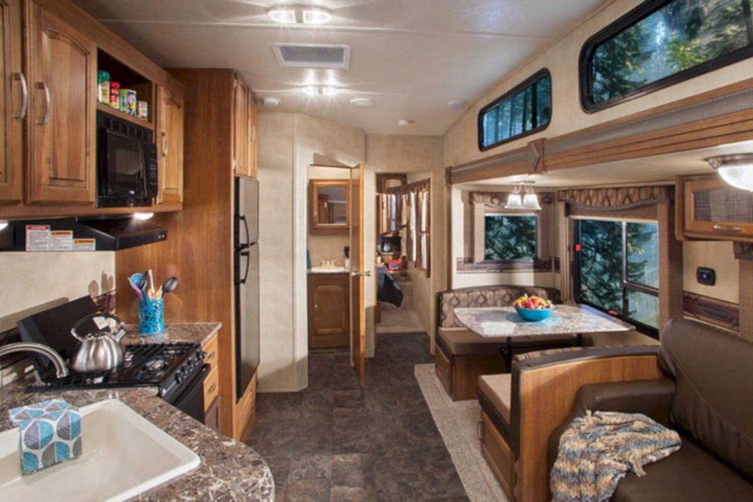 Top 40 Incredible RV Interior Design Ideas For You Modern