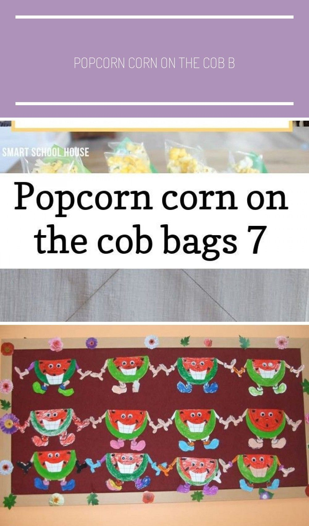 Photo of Popcorn corn on the cob bags 7 #autumnalequinox Such a clever fall craft for the…
