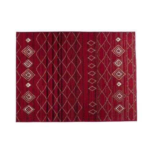 Photo of Teppich Scarlet in Rot World Menagerie Teppichgröße: Rechteckig 160 cm x 220 cm
