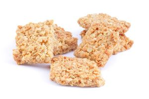 Dr. Oz's Puffed Brown Rice Treat with PB Add a healthy snack to your kids' lunch boxes with these simple and tasty puffed brown rice treats. A generic box of puffed brown rice is only about $1.50, making this an affordable and delicious way to satisfy your family's sweet tooth.