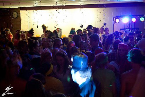 Crowd Dancing Halloween dance - halloween dance ideas