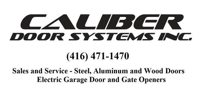 Caliber Door Systems Inc Residential Garage Door Milton Sales