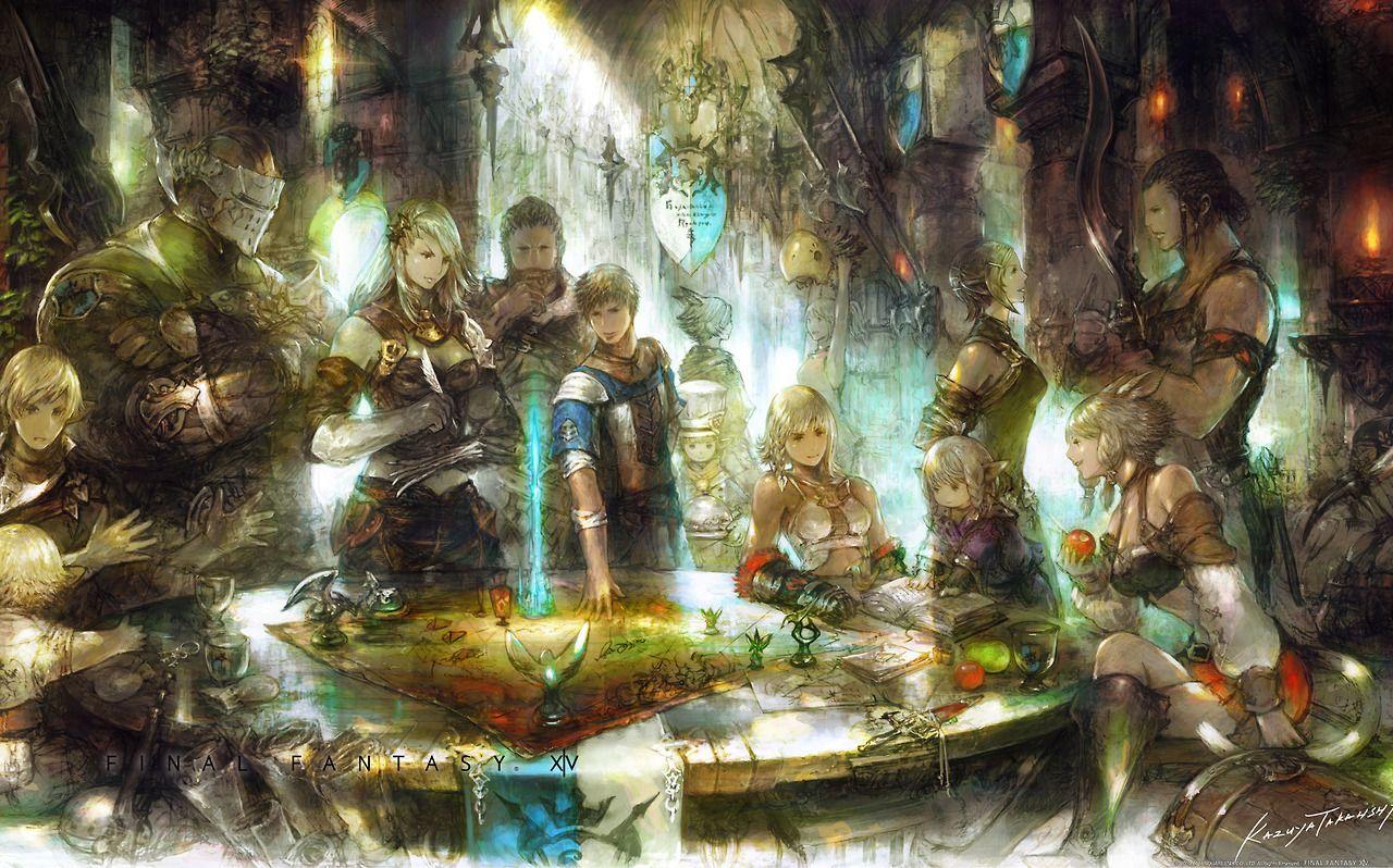 Akihiko Yoshida Est 1967 Final Fantasy Xiv Arte Fantastica