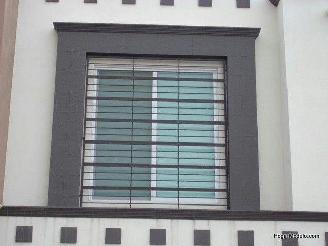 Reja ventana moderna rejas Pinterest Rejas ventanas, Ventanas
