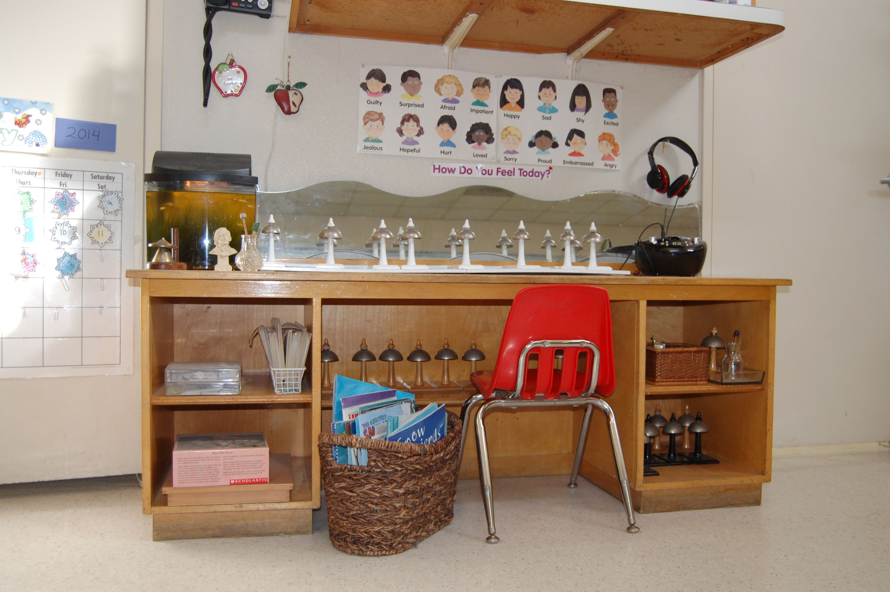 Bell Table And Listening Center