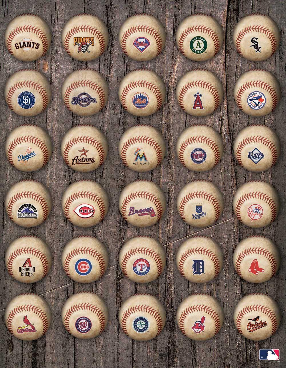 MLB generic logos (Target) Baseball wallpaper, Sports