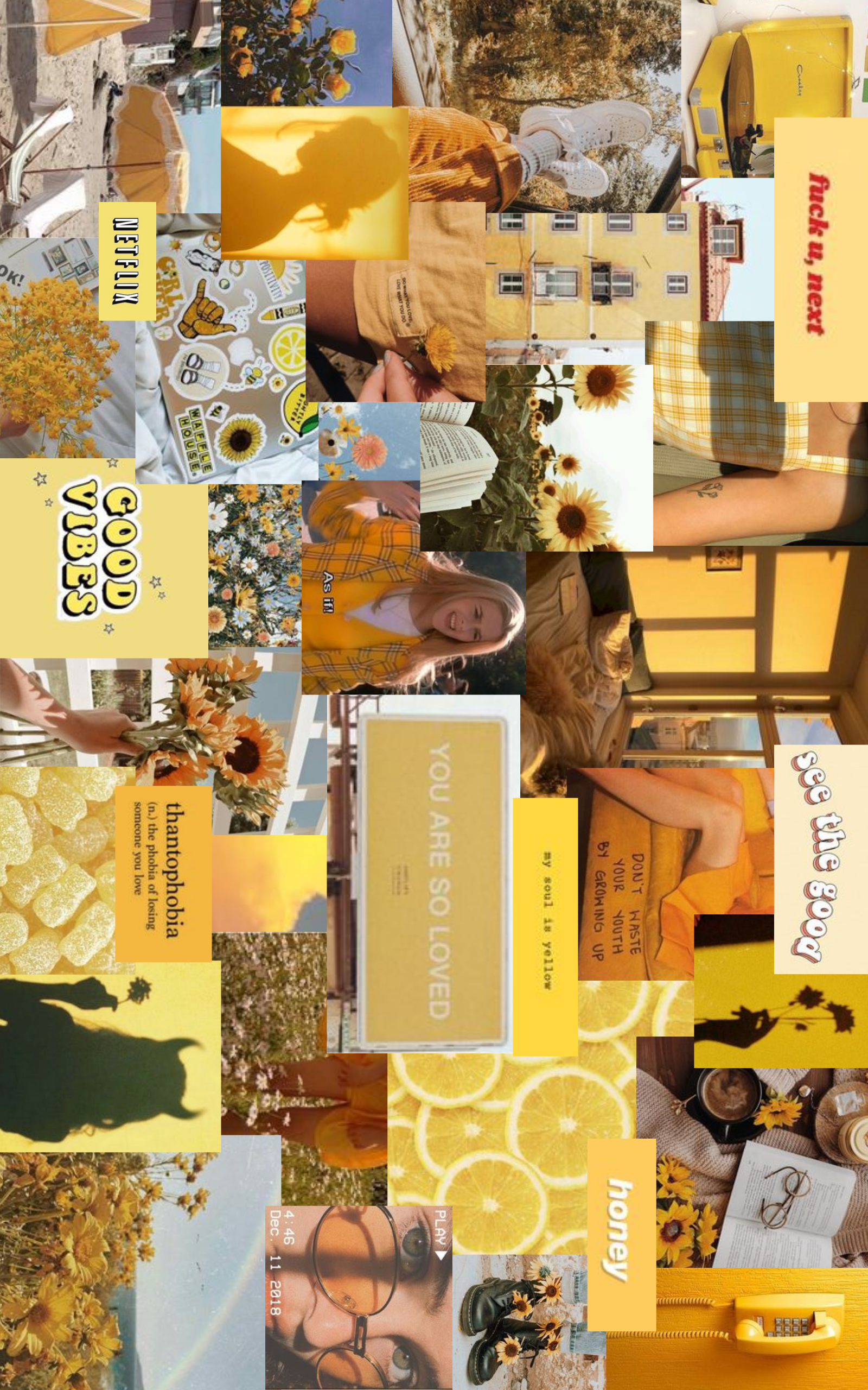 Yellow Aesthetic Desktop Wallpaper Aesthetic Desktop Wallpaper Cute Desktop Wallpaper Iphone Wallpaper Yellow