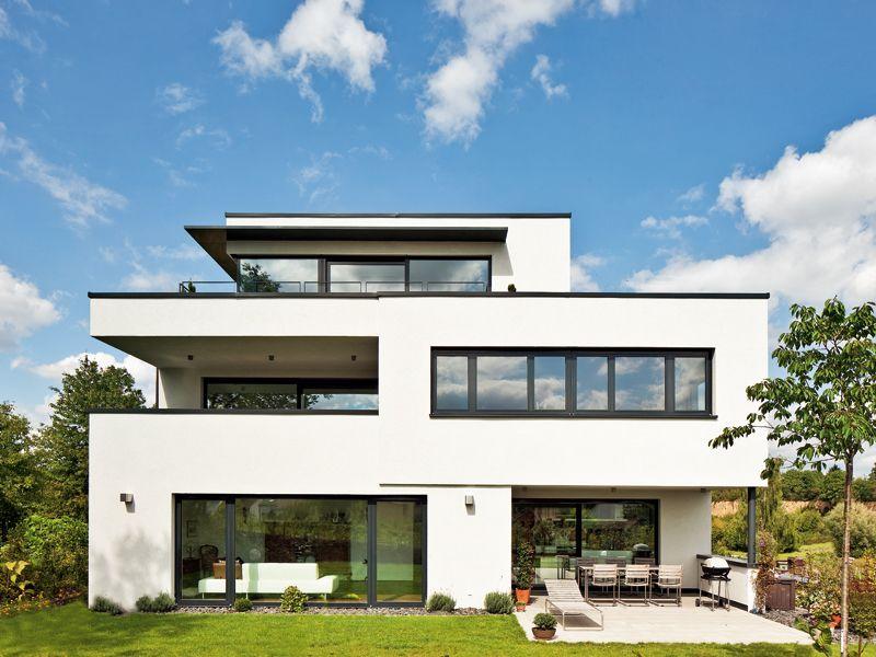 Bildergebnis f r moderne architektur steinfassade for Minimalistisches haus grundriss