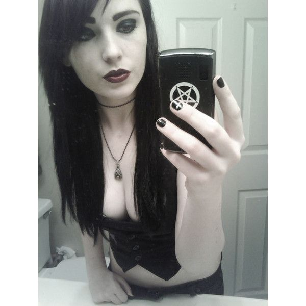 KylieDevyn ❤ liked on Polyvore featuring girls, people, hair and scene girls