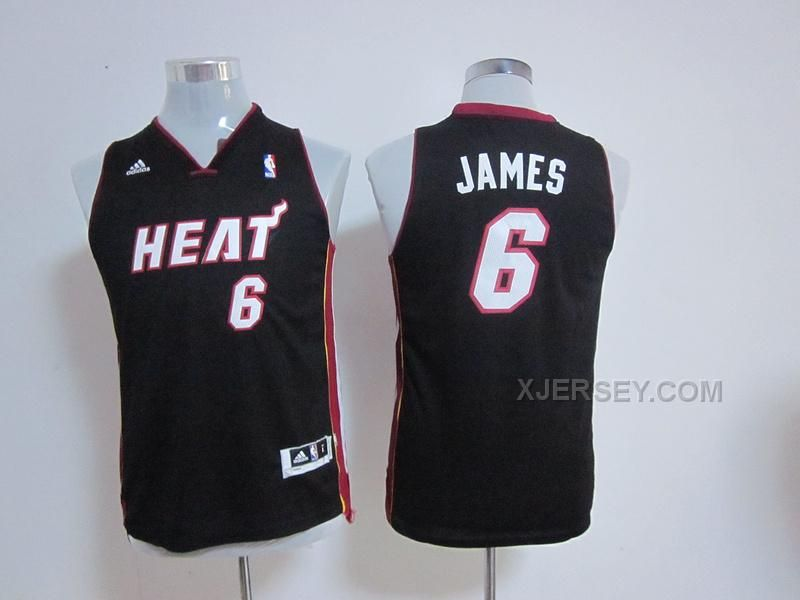 http://www.xjersey.com/heat-6-james-black-new-fabric-youth-jersey.html Only$34.00 #HEAT 6 JAMES BLACK NEW FABRIC YOUTH JERSEY Free Shipping!