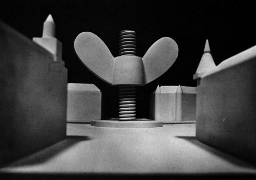 Claes Oldenburg, Proposed Colossal Monument for Karlaplan,...  #architecture #drawing Pinned by www.modlar.com