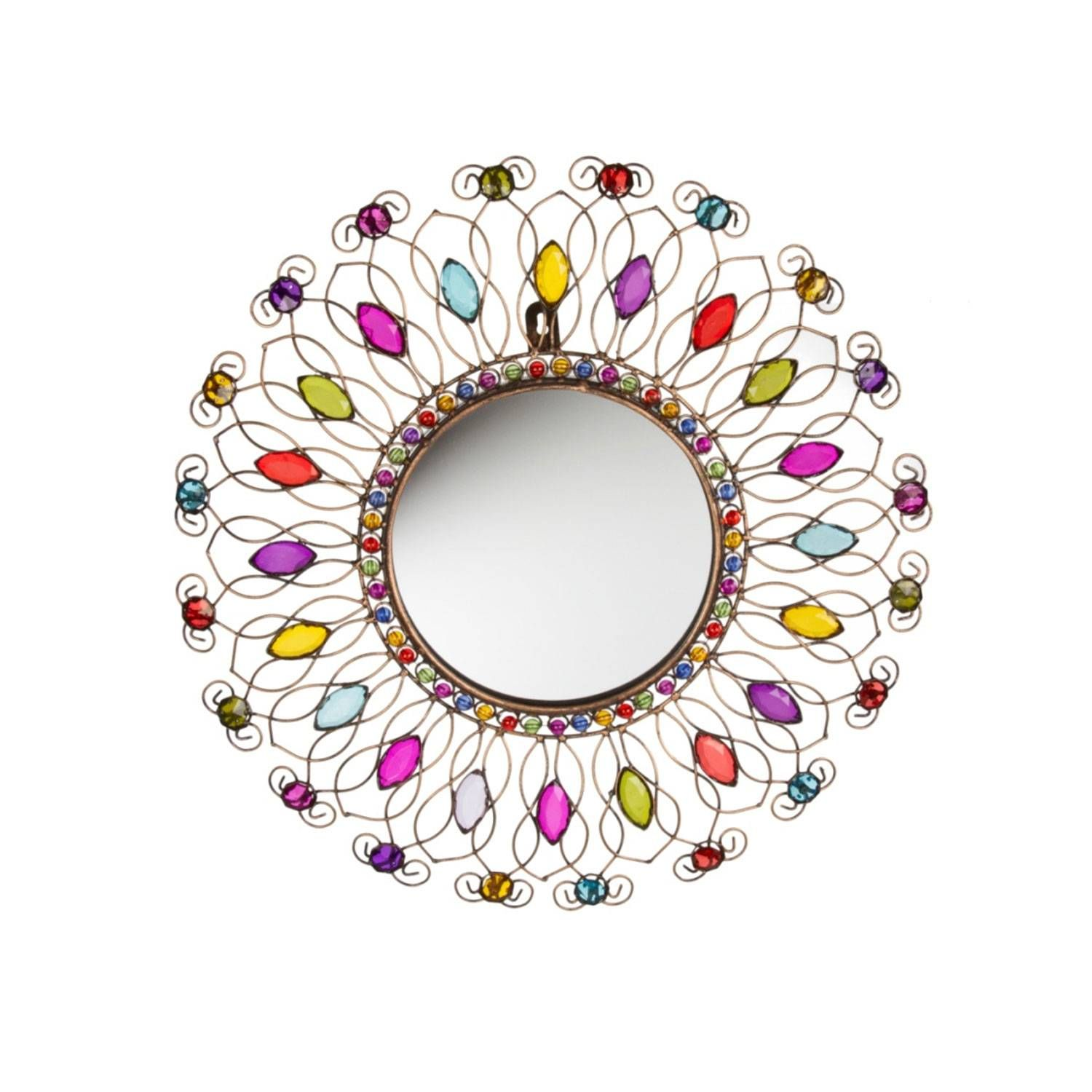 Buy Round Mirror Buy Round Jewelled Mirror Gallery The Range Decor